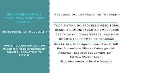 Curso: Rescisão do Contrato de Trabalho