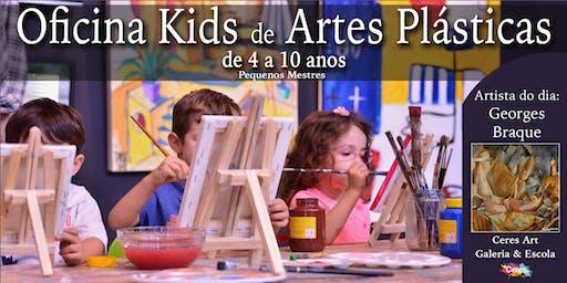 Oficina Kids - Artes Plásticas