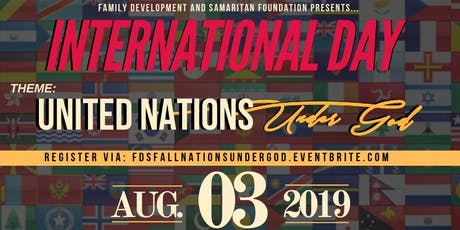 International Day: United Nations Under God  tickets