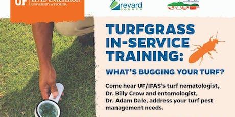 Turfgrass In-Service Training: Pest Management tickets