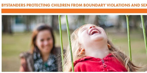 Bystanders Protecting Children from Boundary Violations