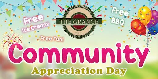 Community Appreciation Day Event