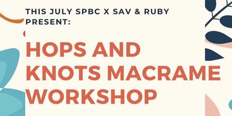 Hops & Knots: Macrame Event tickets