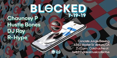 IDEAL Presents: Blocked V2 tickets
