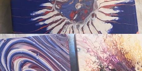 Pour Paint Workshop tickets