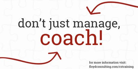 Don't Just Manage, Coach! tickets