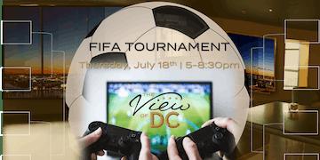 FIFA Tournament 400 Feet Above DC!