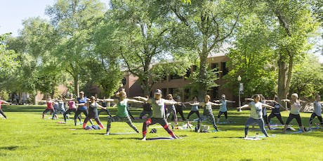 The Women of Silver & Blue Presents Yoga on the Quad tickets