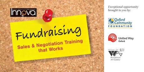 Fundraising Sales and Negotiation Training That Works tickets