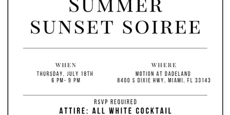 SUMMER SUNSET SOIREE tickets