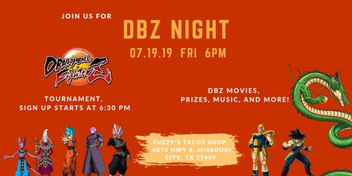 Dragon Ball Fighter Z Tournament