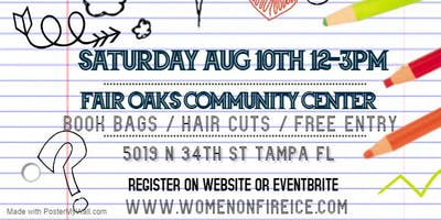 Women On Fire Inc. Back to School Bash