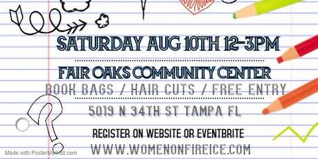 Women On Fire Inc. Back to School Bash tickets