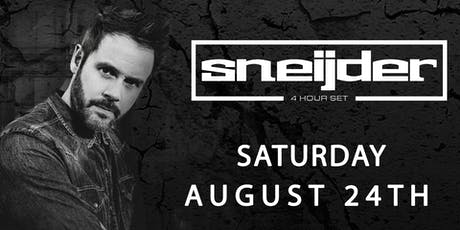 Avalon Presents: Sneijder tickets
