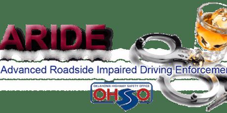 Advanced Roadside Impaired Driving Enforcement (ARIDE) Guymon, OK tickets