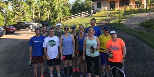 Trail Run with Marathon Sports and Topo Athletic