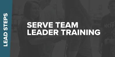 Serve Team Leader Training