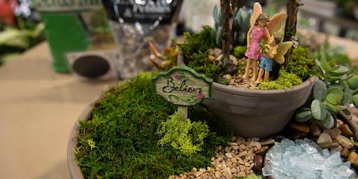 DIY Fairy Garden Workshop | Folsom