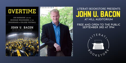 Literati Bookstore Presents John U. Bacon