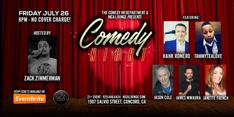 Concord Comedy Night LIVE! tickets