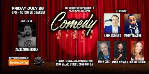 Concord Comedy Night LIVE!
