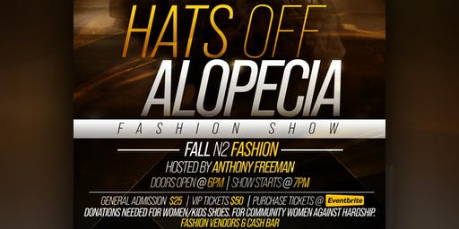 Hats Off Alopecia Fashion Show