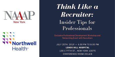 NAAAP NY + Northwell Health Professional Development Workshop tickets