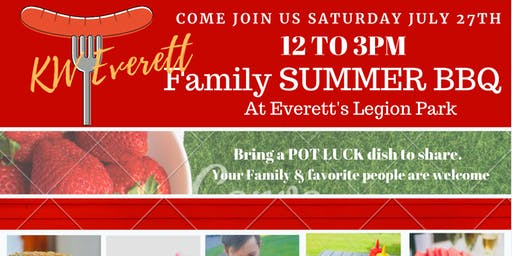 KW Everett Family Summer BBQ & Potluck
