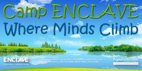 Wednesday 7.17.19 Ali Weiner to Speak at Camp ENCLAVE tickets
