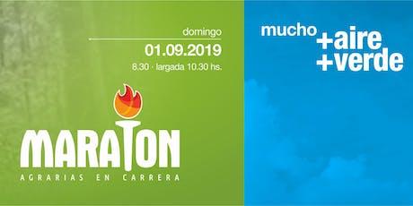 MARATÓN AGRARIAS EN CARRERA 2019 entradas