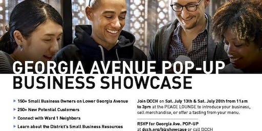 GEORGIA AVENUE POP-UP BUSINESS SHOWCASE