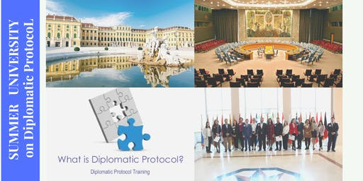 Summer University for Diplomatic Communication Protocol & Etiquette, Vienna