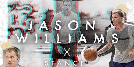 Jason Williams X Stance Fantasy Basketball Camp tickets