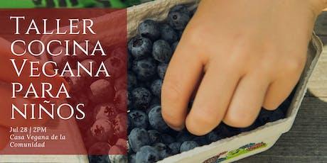 Taller Cocina Vegana para Niñxs tickets
