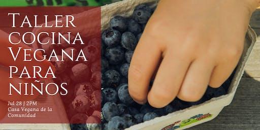 Taller Cocina Vegana para Niñxs
