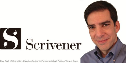 SCRIVENER BASICS: UNLOCKING THE BEST SOFTWARE FOR WRITERS w/CHARLOTTE LIT'S PAUL REALI (1-Day Class)