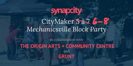 CityMaker 6-8: Mechanicsville Block Party tickets
