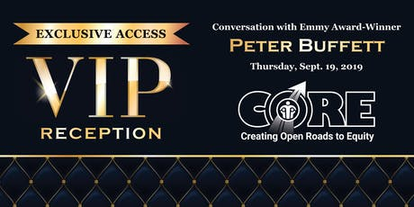 Exclusive VIP Reception & Conversation with Peter Buffett tickets
