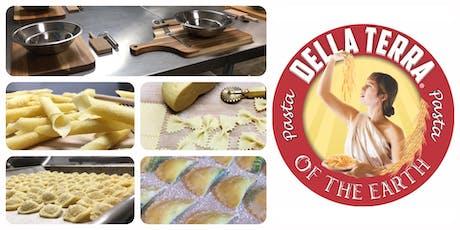 Hands-On Pasta Workshop & Tasting, Farfalle // By Della Terra tickets