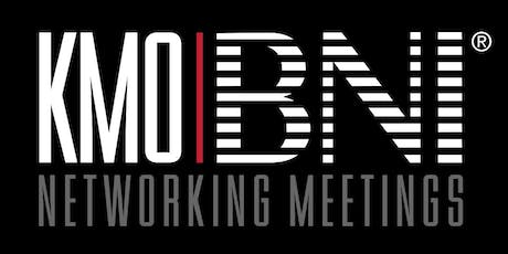 KMO/BNI Networking Evening tickets