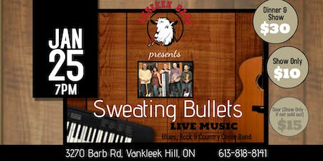 Live Music with SWEATING BULLETS tickets