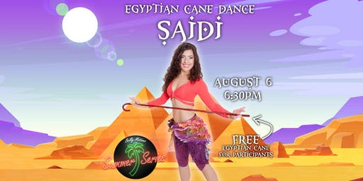 SAIDI | EGYPTIAN CANE DANCE WORKSHOP | BELLY MOTIONS SUMMER SERIES