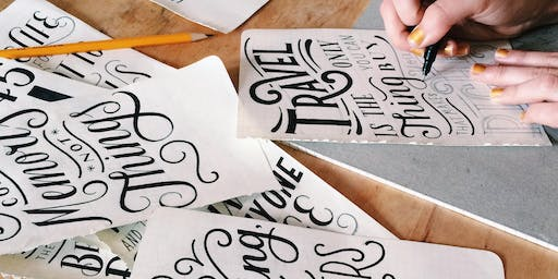 Beginner Hand Lettering Workshop