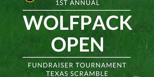 1st Annual Wolfpack Open Fundraiser Golf Tournament