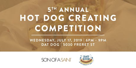 5th Annual National Hot Dog Day Competition! tickets