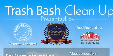 Rockdale Community Ambassadors Present: Trash Bash #2 tickets