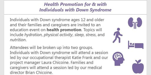 Health Promotion for and with Individuals with Down Syndrome