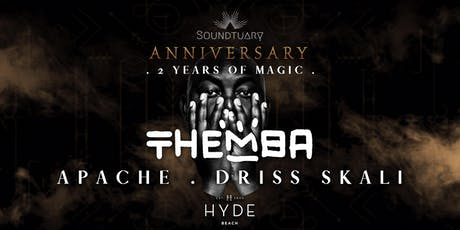 ⬼ Soundtuary 2nd Anniversary pres. THEMBA (South Africa) ⤗ tickets