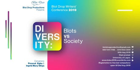 Blot Drop Writers' Conference 2019 tickets