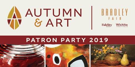 Autumn & Art 2019 Patron Party tickets
